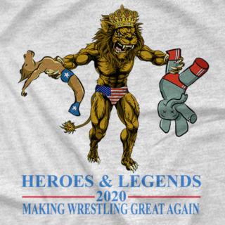 Making wrestling great again 2020