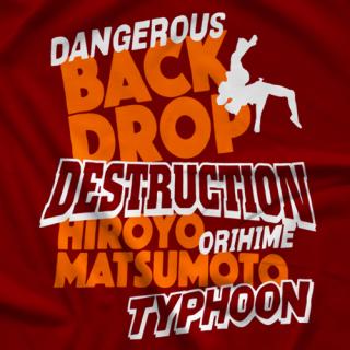 Hiroyo Matsumoto Dangerous Backdrop T-shirt