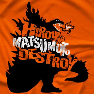 Hiroyo Matsumoto Destroy Monster T-shirt