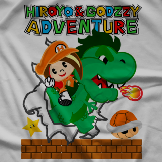 Hiroyo & Godzzy Adventure T-shirt