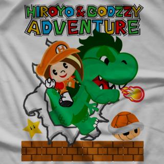 Hiroyo & Godzzy Adventure T-shirt