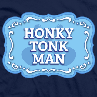 Honky Tonk Man Badge T-shirt