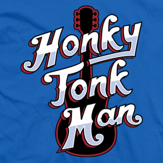 Honky Tonk Man Tour T-shirt