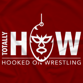 'Totally' Hooked On Wrestling (Red)