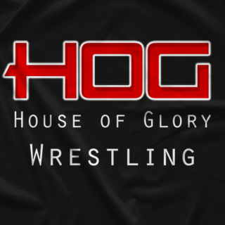 House of Glory Wrestling Classic HOG T-shirt