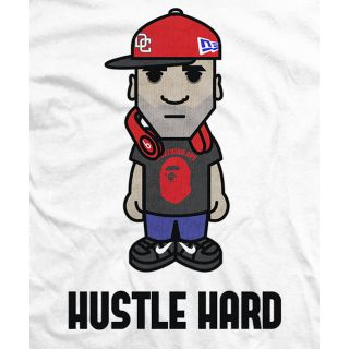 Sonjay Dutt Hustle Hard T-shirt