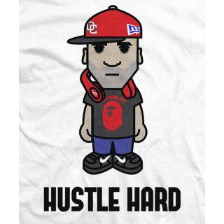 Sonjay Dutt Hustle Hard T-shirt