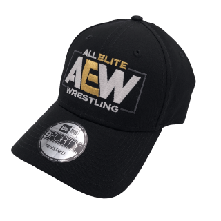 AEW Logo New Era Adjustable 9forty Hat