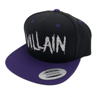 Purple Villain Scratch Snapback