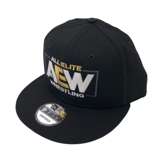AEW Logo New Era 9Fifty Flatbill Snapback