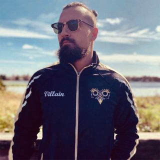 Marty Scurll's Villain Track Jacket