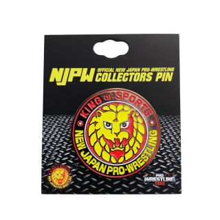 NJPW Collectors Pin: Lion Mark