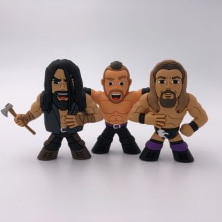 The Kingdom - Matt Taven, TK O'Ryan, Vinny Marseglia Micro Brawler Figure 3 Pack