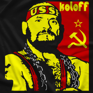 Ivan Koloff Russian Bear Wear T-shirt