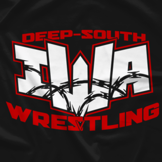 IWA Deep South logo white