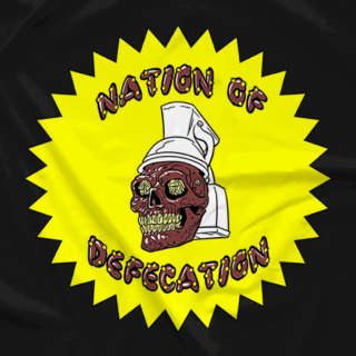Nation of Defecation black