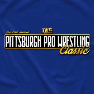 Official Pittsburgh Pro Wrestling Classic T-Shirt
