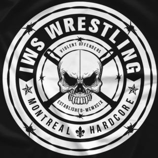 IWS Pro Wrestling Hardcore Soldier T-shirt