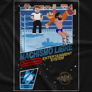 Jack Jameson Machismo Libre NES T-shirt