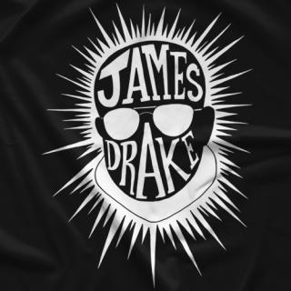 James Drake White T-shirt