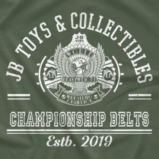 JB Toys Custom Championship Belts