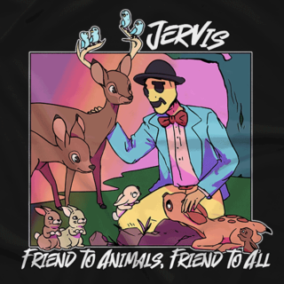 Jervis Friend to Animals (Available in 4 Colors!)