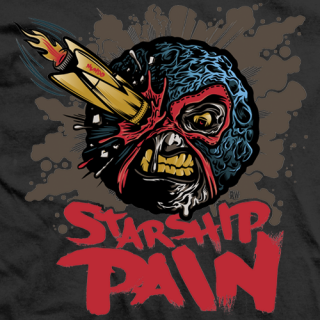 Johnny Mundo Starship Pain T-shirt