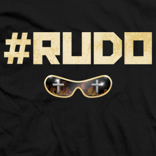 Johnny Mundo #RUDO T-shirt