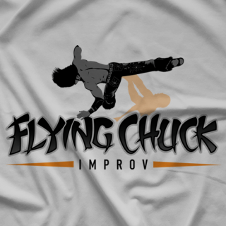 Johnny Mundo Flying Chuck T-shirt