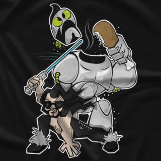 Johnny Mundo Stupid Metal Robot T-shirt