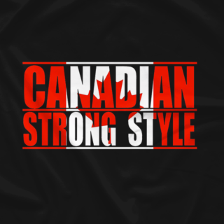 Canadian strong Style Flag