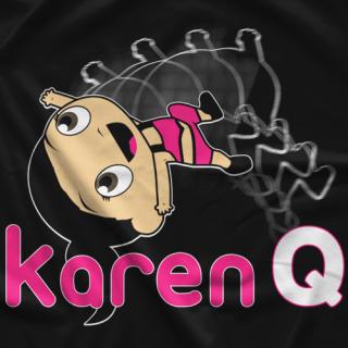 Karen Q Tumbling Q T-shirt