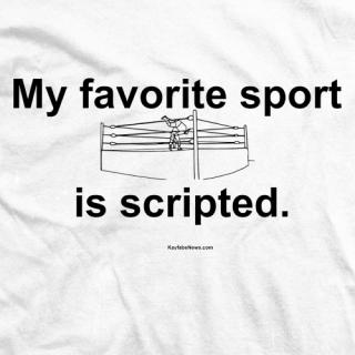 Favorite Sport is Scripted