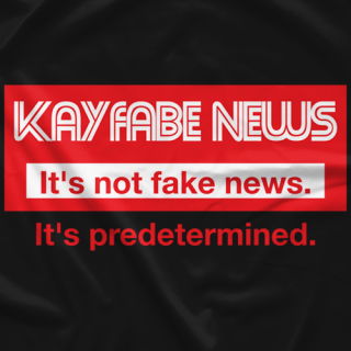 It's Not Fake News (Black) T-shirt