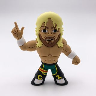Kenny Omega (Blonde Variant) Micro Brawler Figure