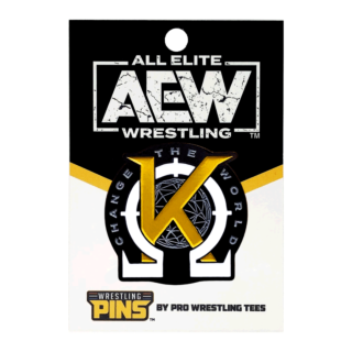 Kenny Omega - K Wrestling Pin