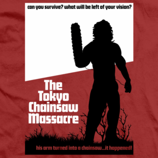Kenny Omega The Tokyo Chainsaw T-shirt