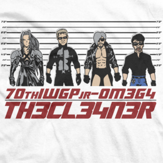 Kenny Omega 70th IWGP jr T-shirt