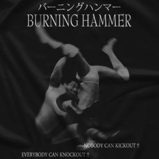 Kenta Kobashi Burning Hammer T-shirt