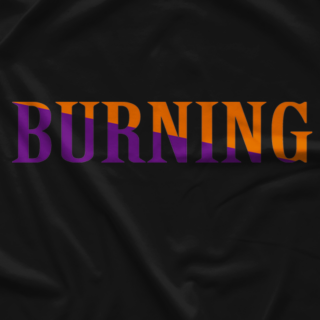 Kenta Kobashi Burning Black T-shirt
