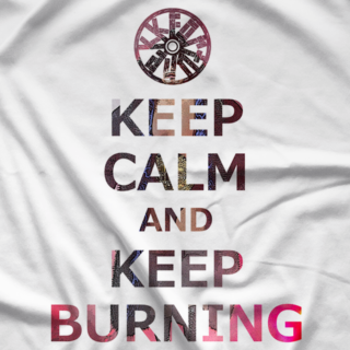 Kenta Kobashi Keep Burning T-shirt