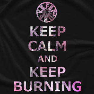 Kenta Kobashi Keep Burning Black T-shirt