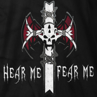 Kevin Thorn Hear Me Fear Me T-shirt