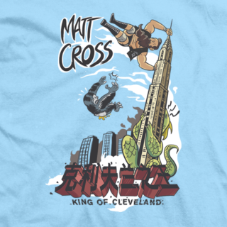 Matt Cross King of Cleveland 2 T-shirt