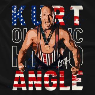 Kurt Angle Retro