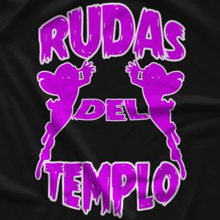 Last Real Heels Podcast Lucha Kliq Rudas Pink T-shirt