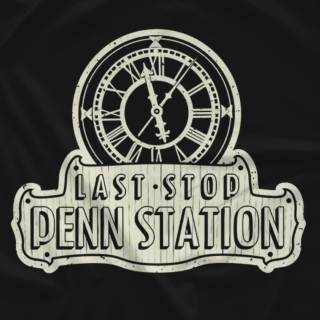 Last Stop Penn Station Tee Shirt (one color)