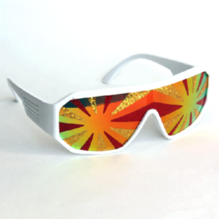 Macho Man Lava Flow Savage Glasses