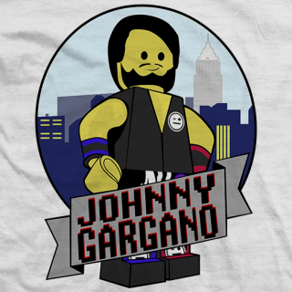 Johnny Gargano Legargano T-shirt