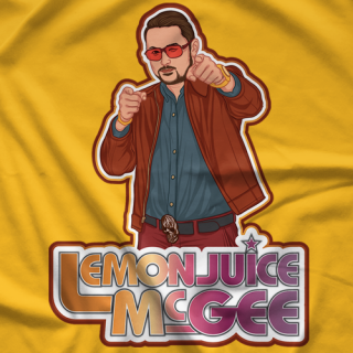 Lemonjuice McGee Stay Gold T-Shirt